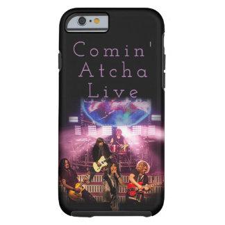 Funda Resistente iPhone 6 TESLA- caja viva del teléfono de Comin Atcha