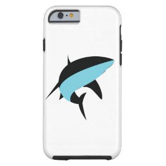 Funda Resistente iPhone 6 Tiburón azul profundo