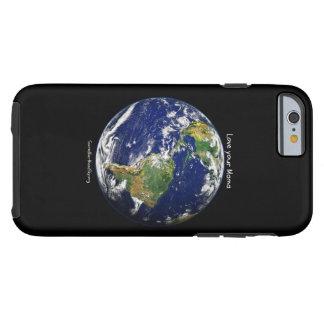 Funda Resistente Para iPhone 6 Ame a su mamá Phone Case