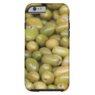 Funda Resistente Para iPhone 6 Ciérrese para arriba de aceitunas verdes