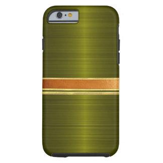 Funda Resistente Para iPhone 6 Cobre y caja congregada oro del iPhone 6
