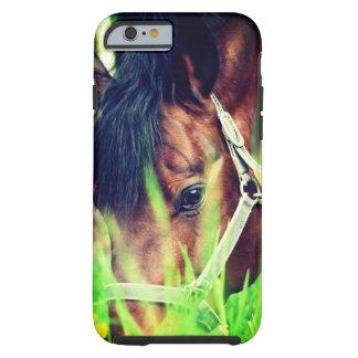 Funda Resistente Para iPhone 6 colección del caballo. primavera