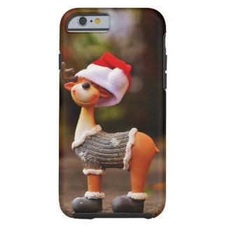 Funda Resistente Para iPhone 6 Decoraciones del reno - reno del navidad