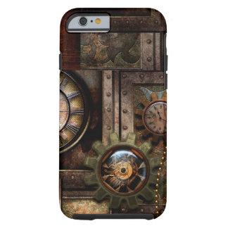 Funda Resistente Para iPhone 6 Diseño maravilloso del steampunk