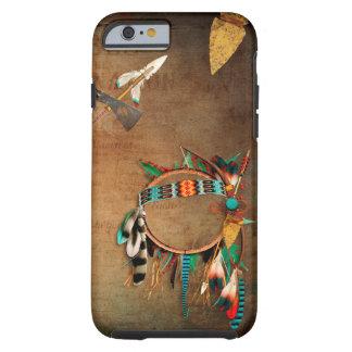 Funda Resistente Para iPhone 6 Indio de la punta de flecha del nativo americano