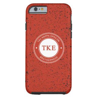 Funda Resistente Para iPhone 6 Insignia del épsilon el | del Tau Kappa