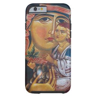 Funda Resistente Para iPhone 6 Madre Maria y arte de Jesús