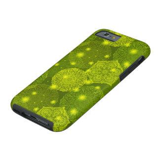 Funda Resistente Para iPhone 6 Modelo de lujo floral de la mandala