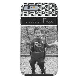 Funda Resistente Para iPhone 6 Modelos retros negros y blancos y foto querida