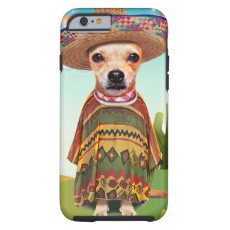 Funda Resistente Para iPhone 6 Perro mexicano, chihuahua