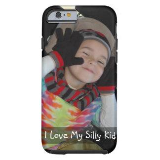 Funda Resistente Para iPhone 6 Personalice con la foto de su niño divertido