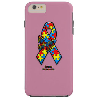 Funda Resistente Para iPhone 6 Plus Conciencia del autismo