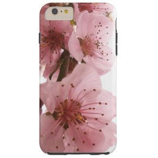 Funda Resistente Para iPhone 6 Plus Flor del melocotón