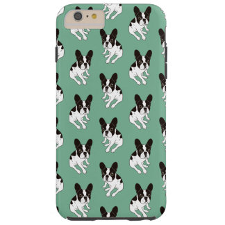 Funda Resistente Para iPhone 6 Plus Frenchie de varios colores encapuchado doble lindo