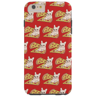 Funda Resistente Para iPhone 6 Plus Frenchie poner crema le invita a su fiesta de la