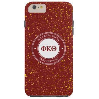 Funda Resistente Para iPhone 6 Plus Insignia de la theta el | de Kappa de la phi