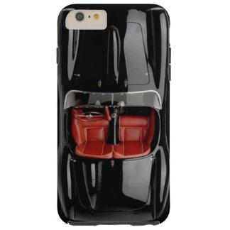 Funda Resistente Para iPhone 6 Plus iPhone 6/6S del negro del coche de deportes más el