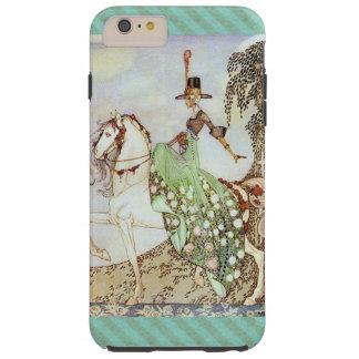 Funda Resistente Para iPhone 6 Plus Princesa Riding del cuento de hadas un caballo
