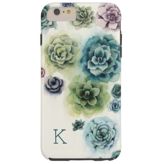 Funda Resistente Para iPhone 6 Plus Racimo de Succulents