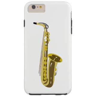 Funda Resistente Para iPhone 6 Plus Saxofón