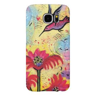 Funda Samsung Galaxy S6 Arte de la fantasía del colibrí para el teléfono