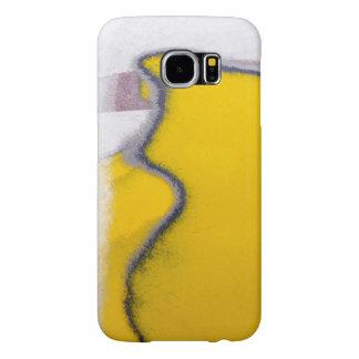 Funda Samsung Galaxy S6 Arte rasgado coche de la pintura