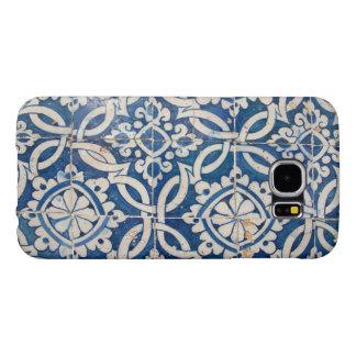 Funda Samsung Galaxy S6 Azulejo del portugués del vintage