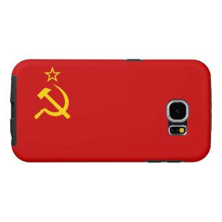 Funda Samsung Galaxy S6 Bandera de Unión Soviética