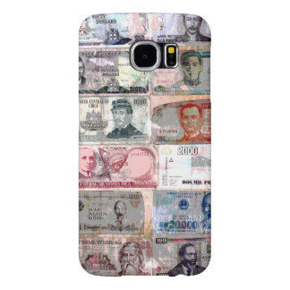 Funda Samsung Galaxy S6 Billetes del mundo