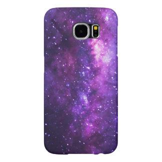 Funda Samsung Galaxy S6 Caja de la galaxia S6 de la vía láctea