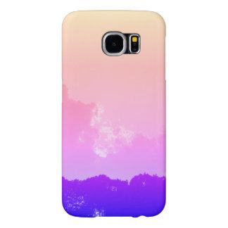 Funda Samsung Galaxy S6 caja de la galaxia S6 de Samsung de la opinión de