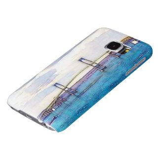 Funda Samsung Galaxy S6 Caja de la galaxia S6 de Samsung del puente de