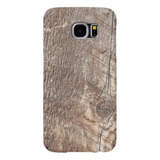 Funda Samsung Galaxy S6 Caja de madera resistida del teléfono de la foto