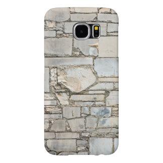Funda Samsung Galaxy S6 Caja de mármol del teléfono de la pared de la losa