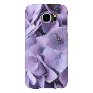 Funda Samsung Galaxy S6 Caja del teléfono del flor del Hydrangea de la