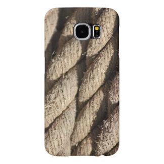 Funda Samsung Galaxy S6 Caja gruesa del teléfono de la foto de la cuerda