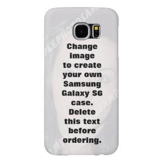 Funda Samsung Galaxy S6 Caja personalizada de la galaxia S6 de Samsung de