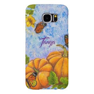 Funda Samsung Galaxy S6 Caja personalizada del teléfono con la mariposa y