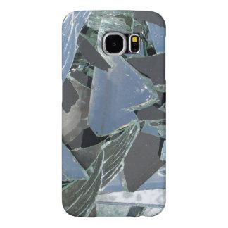 Funda Samsung Galaxy S6 Caja quebrada del teléfono del espejo