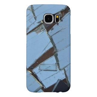 Funda Samsung Galaxy S6 Caja rota del teléfono de la foto del espejo