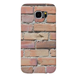 Funda Samsung Galaxy S6 Caja usada del teléfono de la pared de ladrillo