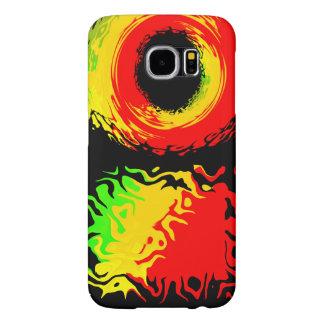 Funda Samsung Galaxy S6 Caso del color de Rasta