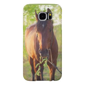Funda Samsung Galaxy S6 colección del caballo. primavera