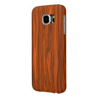 """Funda Samsung Galaxy S6 Cubierta de la galaxia S6 del """"aliso rojo"""""""