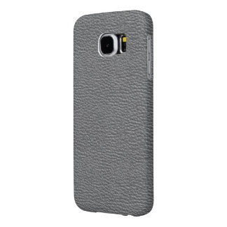 Funda Samsung Galaxy S6 El cuero tiene gusto de gris
