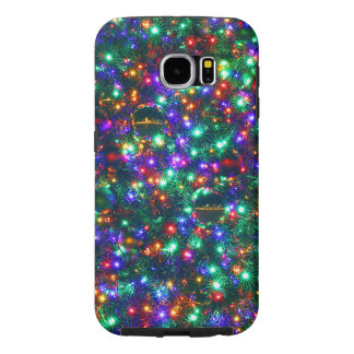 Funda Samsung Galaxy S6 Estrellas chispeantes del navidad