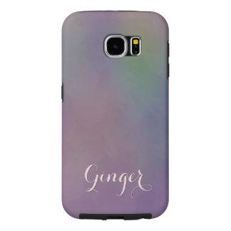 Funda Samsung Galaxy S6 Extracto amarillo magenta verde púrpura