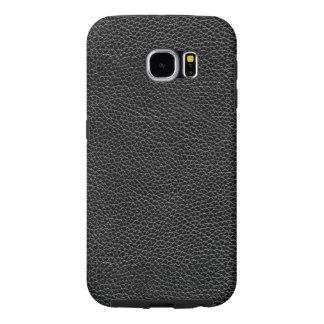 Funda Samsung Galaxy S6 Falso cuero negro