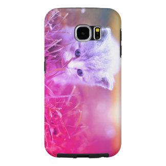 Funda Samsung Galaxy S6 Gatito curioso
