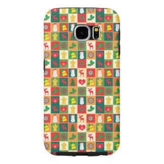 Funda Samsung Galaxy S6 Gran modelo del navidad